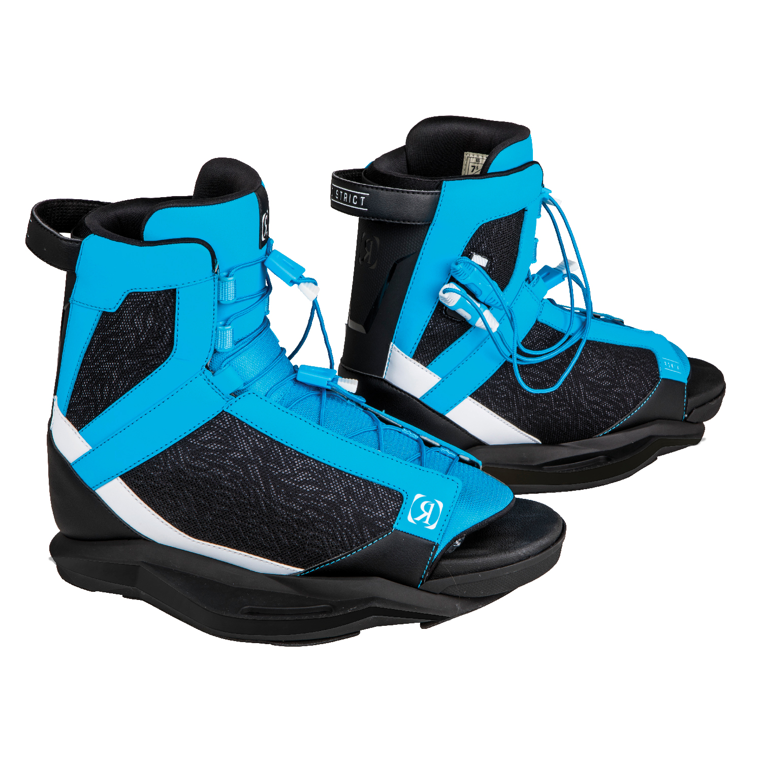 Ronix 2019 District (Blue/White/Black) Wakeboard Boots