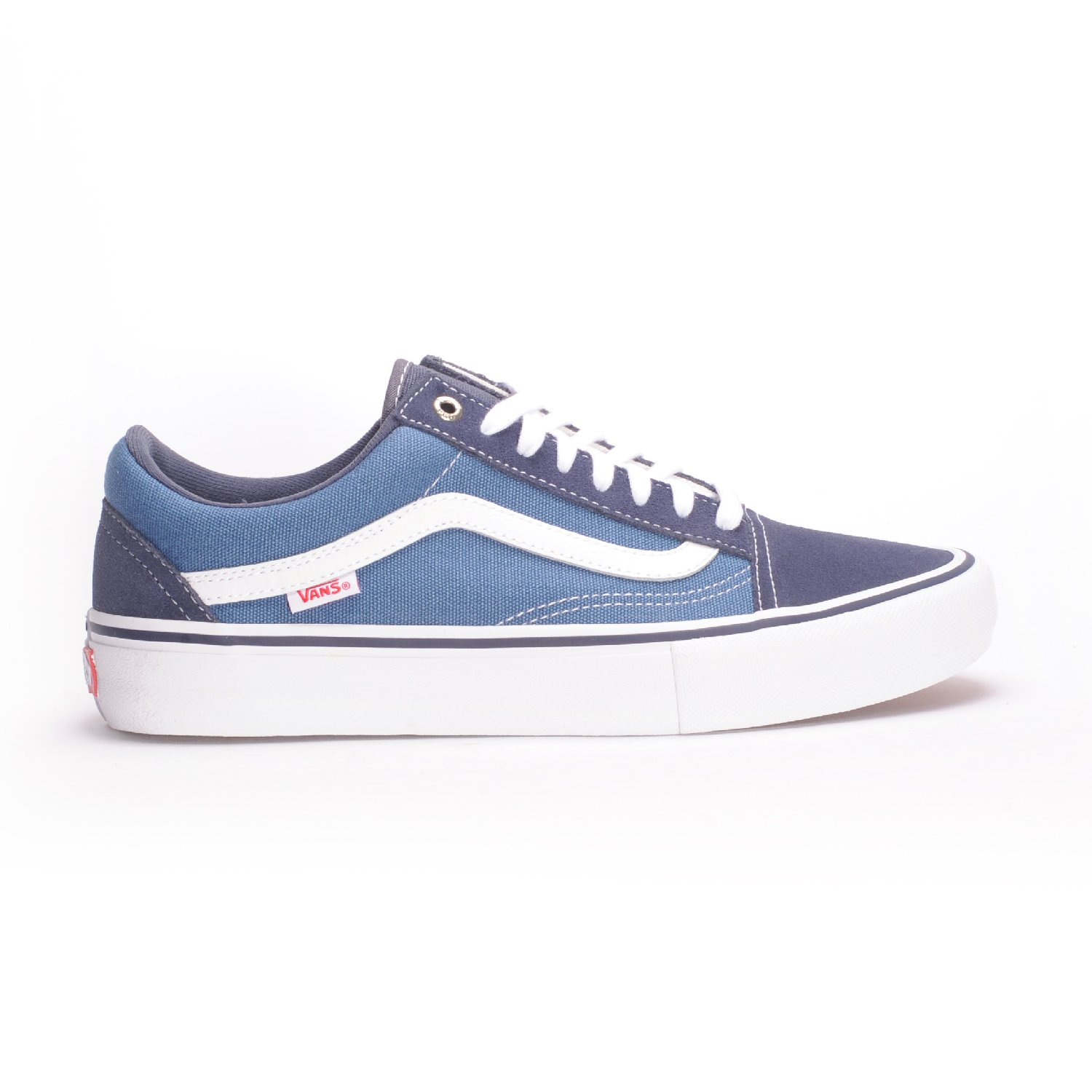 ed08f219d28d Vans Old Skool Pro (Navy STV Navy White) Men s Skate Shoes
