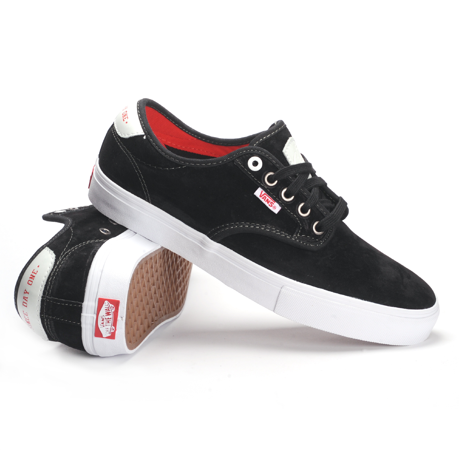 Vans Chima Ferguson Pro (Real Skateboards Black) Kid's Shoes