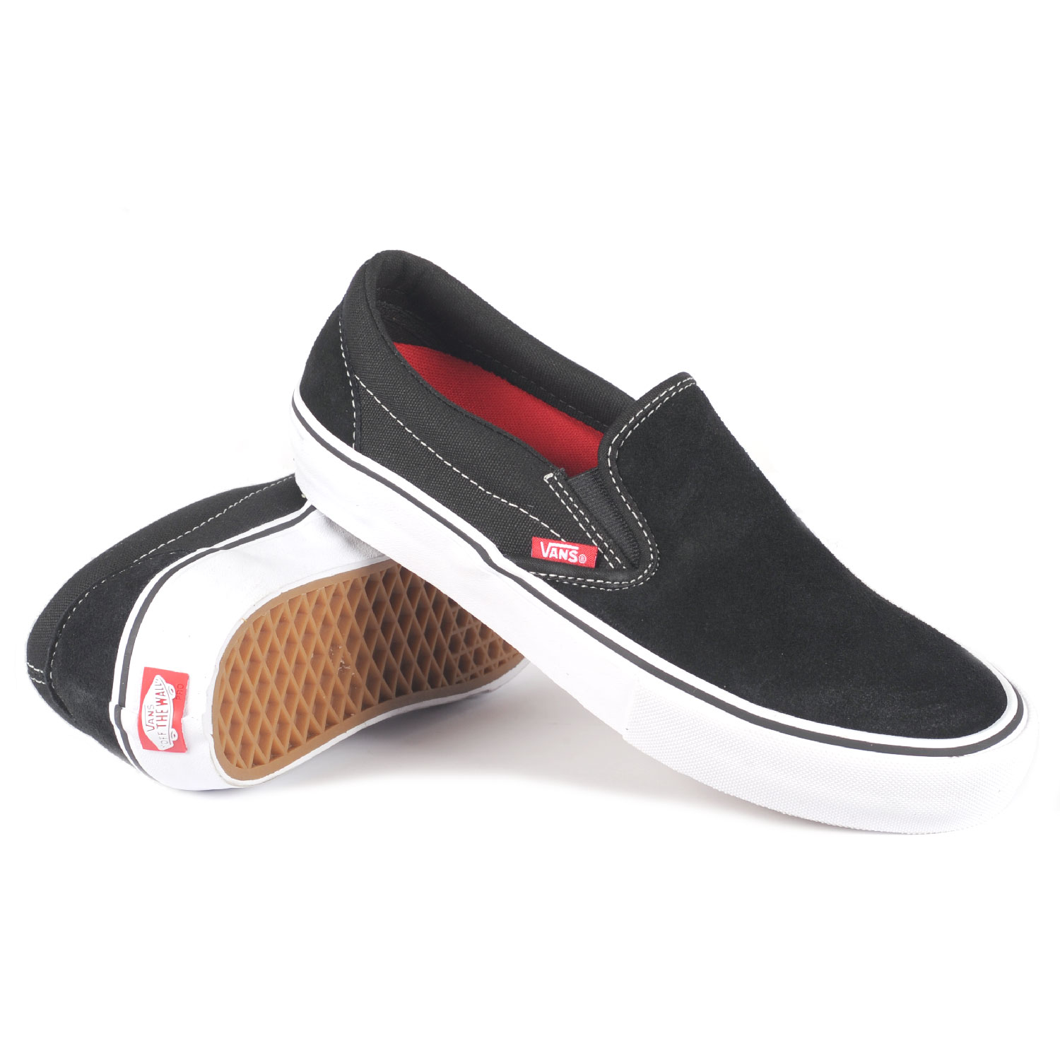 Vans shoes black and white for men