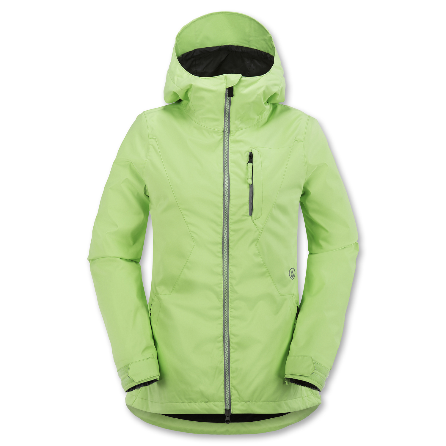 Volcom 2016 Dryas (Lime Ice) Women&39s Snowboard Jacket