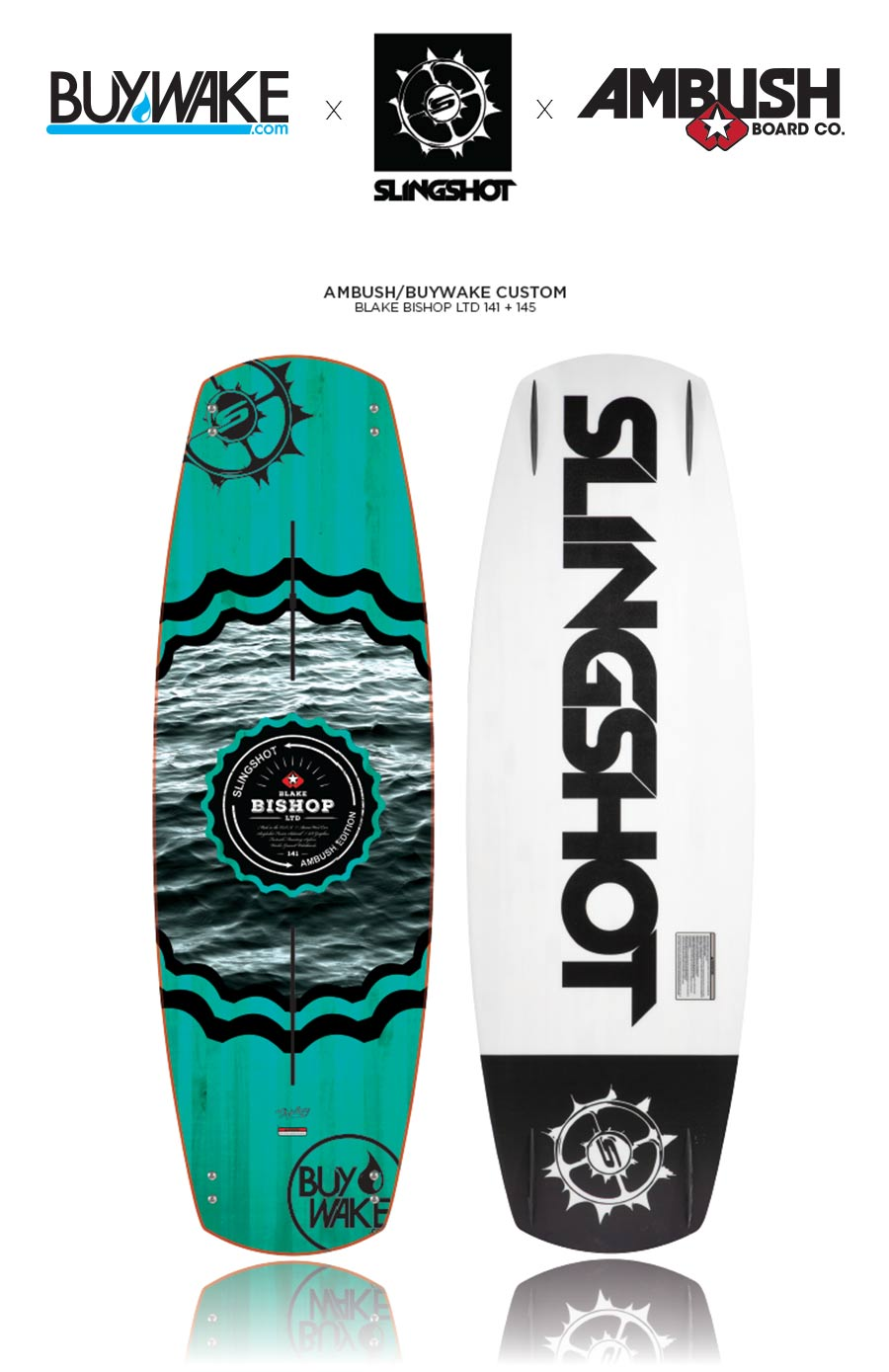 Blake Bishop LTD Slingshot Wakeboard