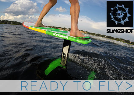 Try the newest way to have fun with the Slingshot Wakefoiler