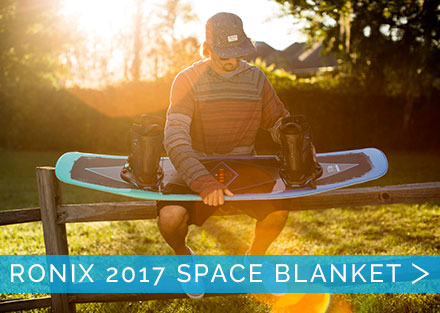 New Ronix Space Blanket Wakeboard