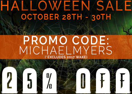 Halloween Sale!  25% Off!