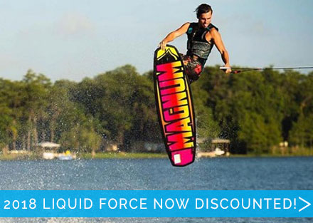 All 2018 Liquid Force is now discounted!