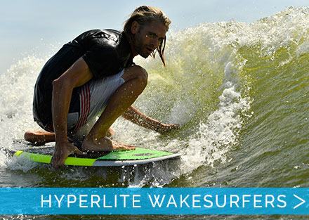Surfs Up with 2018 Hyperlite Wake Surfers
