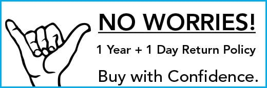 No Worries 366-Day Return Policy