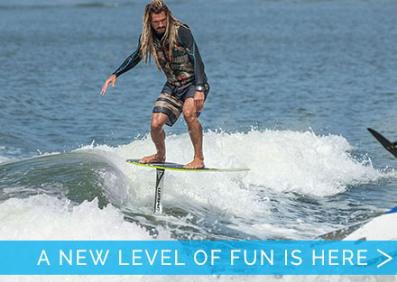 A whole new level of fun is here!  Try the Wakefoil!