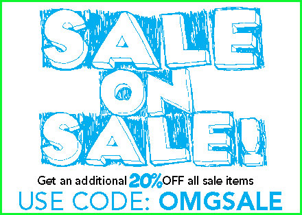Sale on Sale!  Get an additional 20% OFF!
