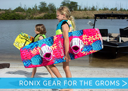 The best gear for the kids from Ronix!