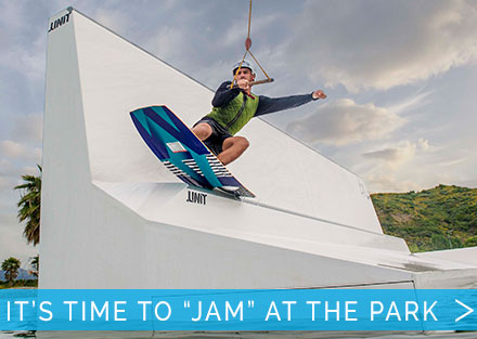 Get creative at the cable park with the Hyperlite JAM!