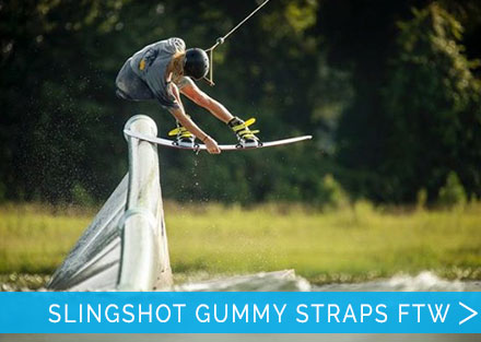 New 2019 Slingshot Gummy Strap Bindings