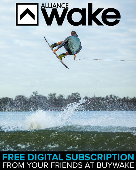 FREE digital subscription to Alliance Wakeboard Magazine