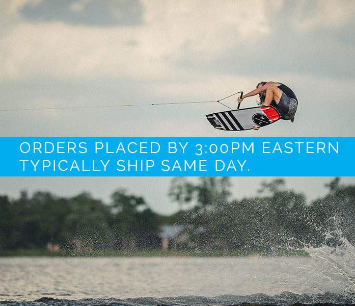 BuyWake Orders Placed by 3:00 PM Eastern Usually Ship the Same Day